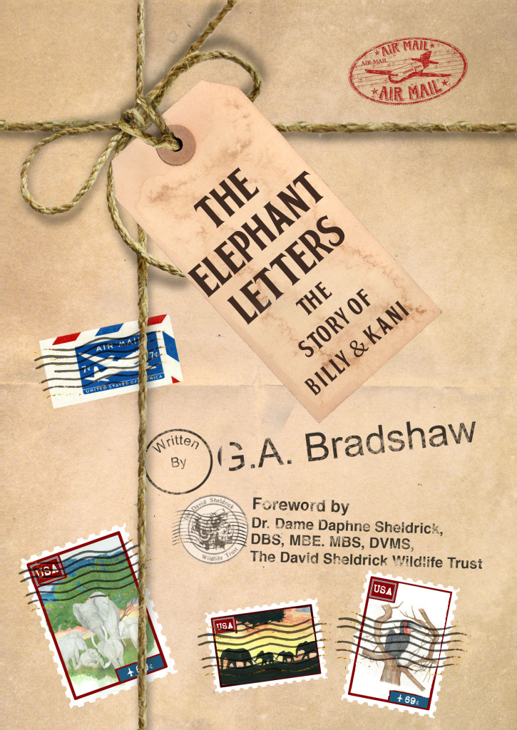 Cover photo of The Elephant Letters book